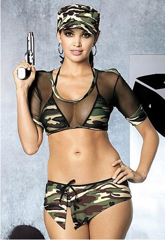 девушки в военной форме порно