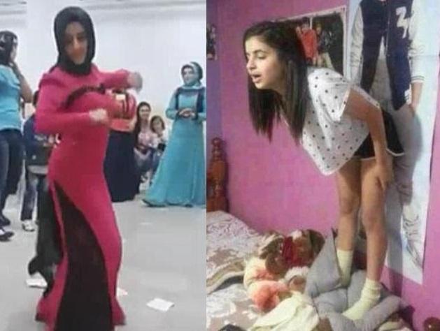 Türbanlı Azgın Komşusunu Sikiyor  Türk Porno