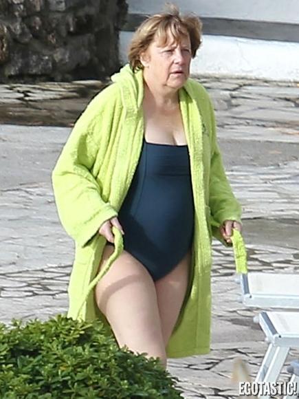 bikini Angela merkel