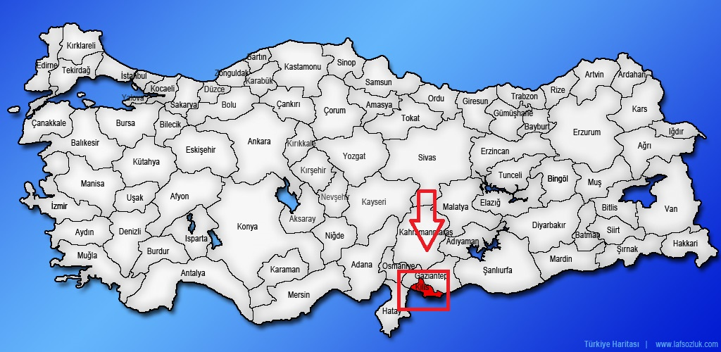 yer belirleme harita