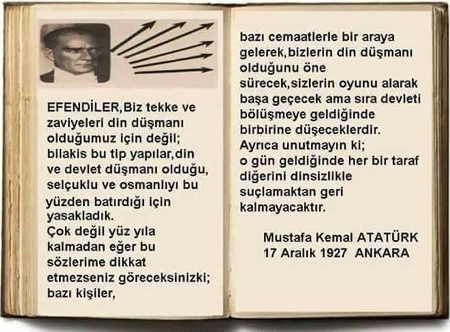 Atatürk Gerçekleri 90 Yıl önceden Görmüş Inci Sözlük